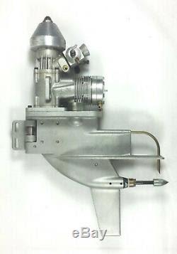 K&b 7.5cc Rc Outboard Model Boat Marine Motor / Engine
