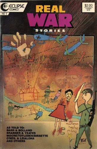 The cover of 'Real War Stories'
