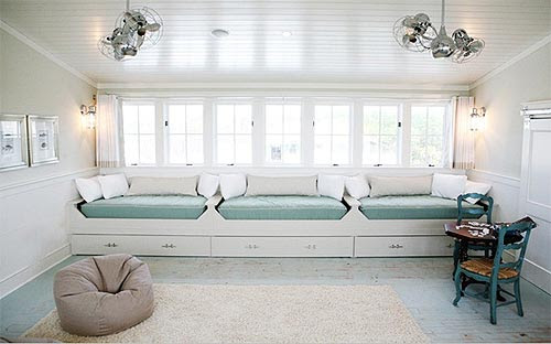 cozy_window_benches | Interior Design Ideas
