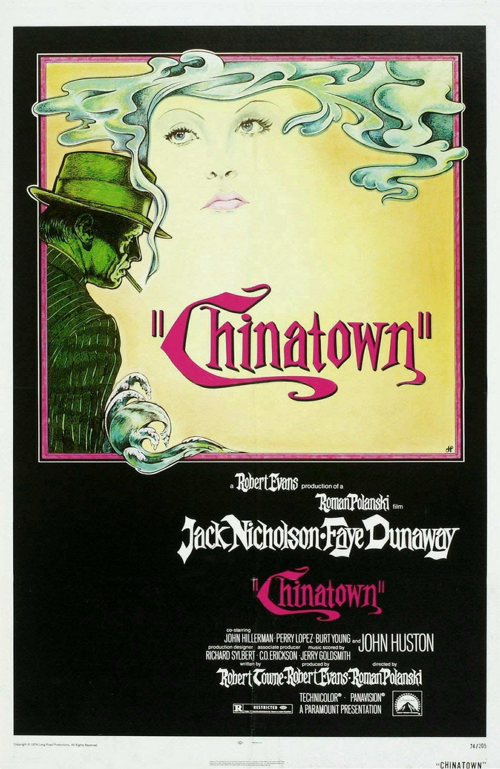 Extra Large Movie Poster Image for Chinatown