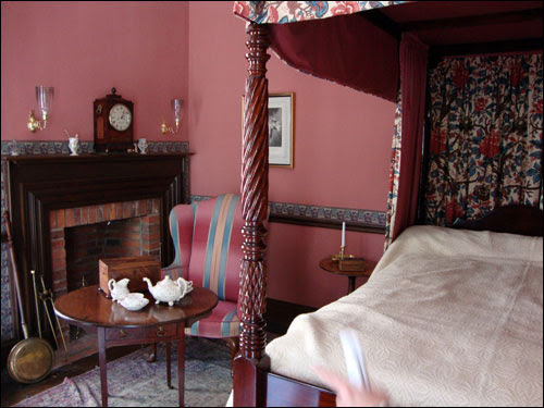 Campbell House bedroom