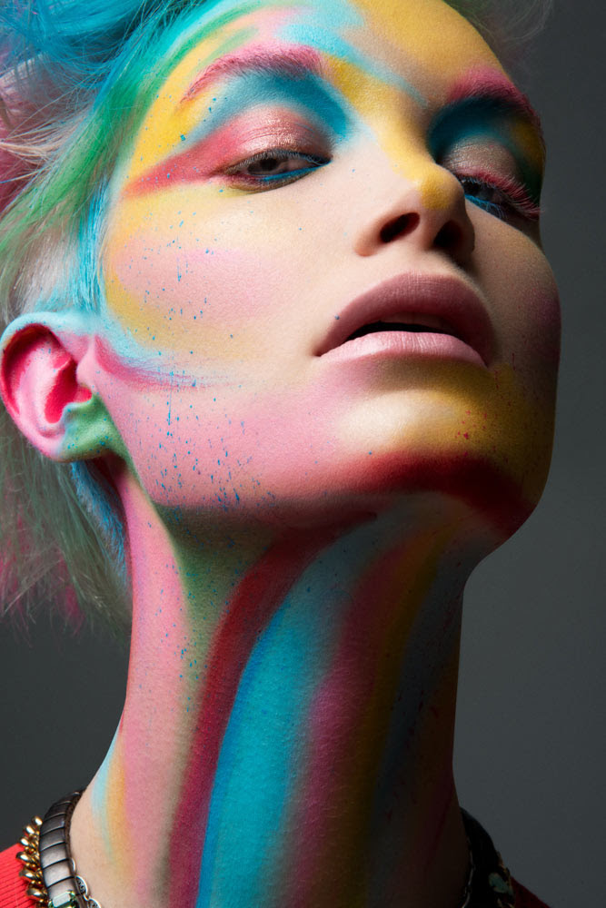 Makeup artist photography