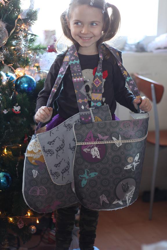 Doily bag WIP