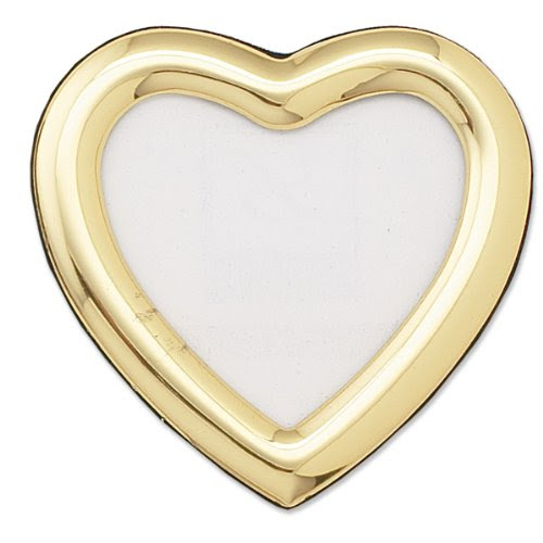 Albums Frames Lawrence Frames 2 By 3 Inch Gold Heart Picture Frame