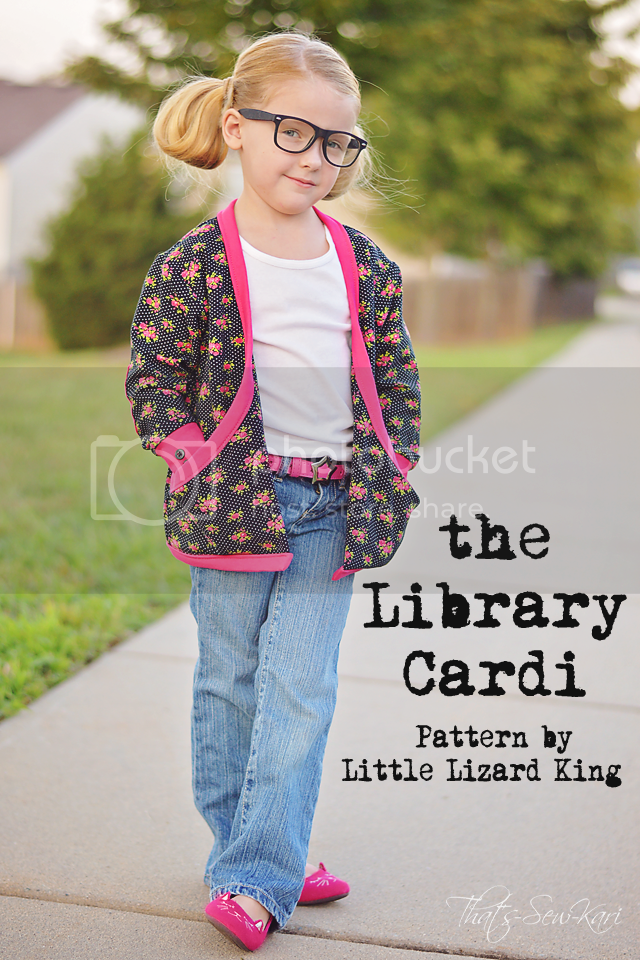 Library Cardi