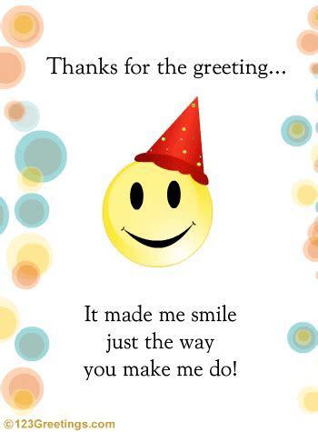 A Cute Thank You Wish  Free Thank You eCards, Greeting