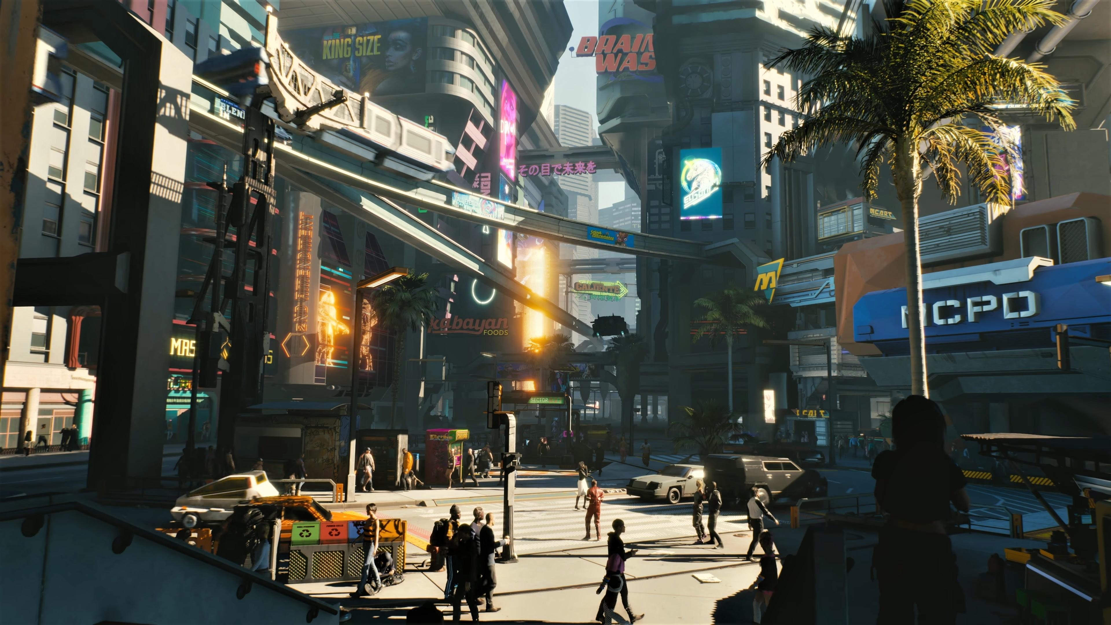 Download 3840x2400 wallpaper modern city, cyberpunk 2077 ...