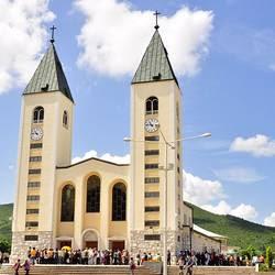 La Chiesa di San Giacomo a Medjugorje