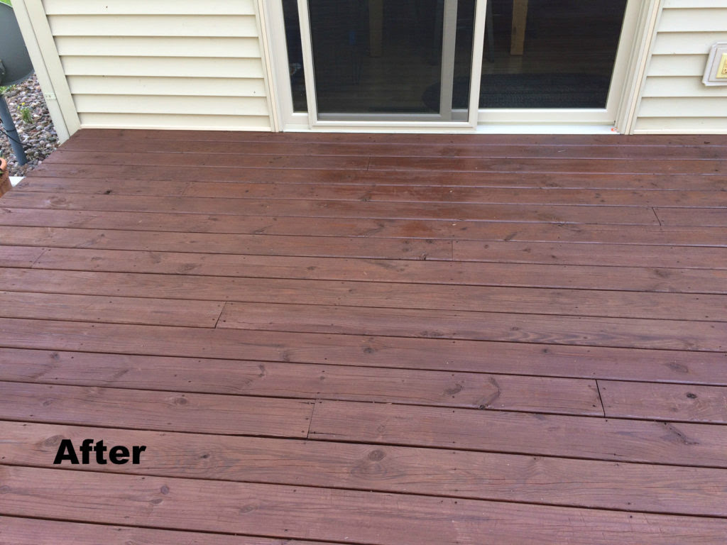 Flood Deck Stain My Hobby