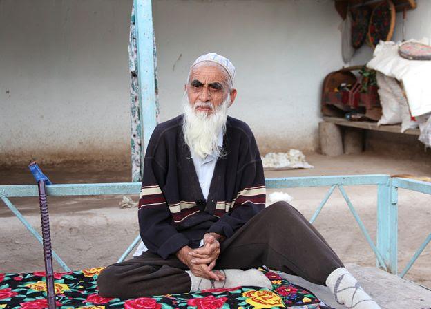 File photo: Bearded man in Khatlon region