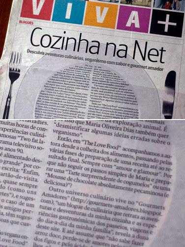 Cozinha na net - Jornal de Notícias