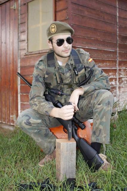 Jorge, el soldado de la sonrisa
