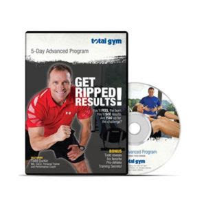 total gym complete fitness dvd set  workouts total gym