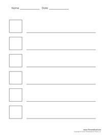 Printable Acrostic Poem Templates for Kids - PDF Format