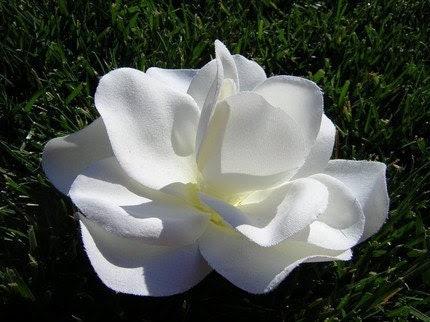 Gardenia Chic Hair Clip