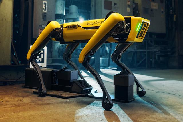 Boston Dynamics' Spot robot has learned to replan its routes