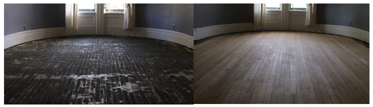 Before+and+after+hardwood+floor+refinish