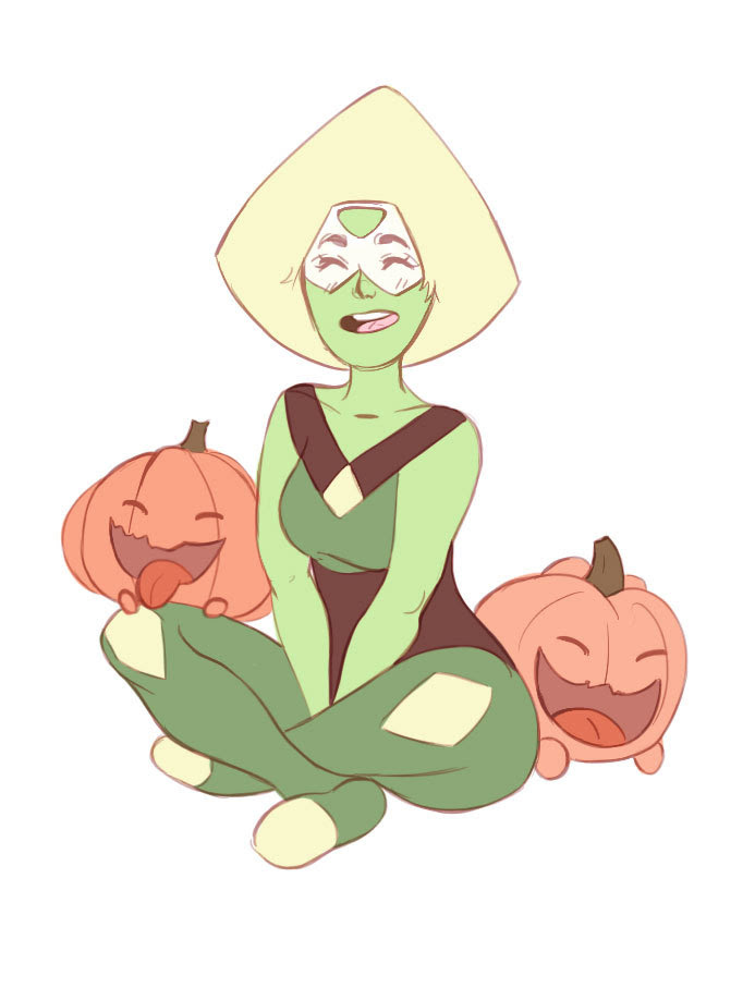Peridot with pumpkiiiins.