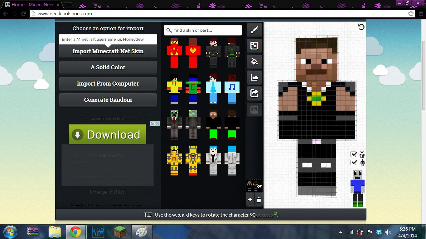 Minecraft Skin Maker Download Windows - Syurat f