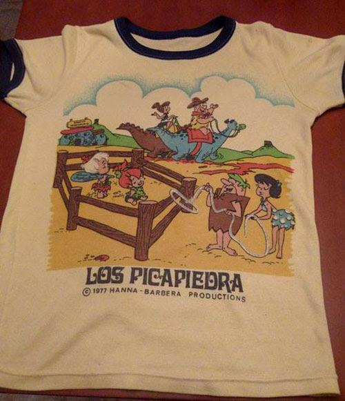camiseta-Picapiedra