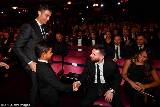 Messi says he and Ronaldo only ever get to converse at award ceremonies once or twice a year
