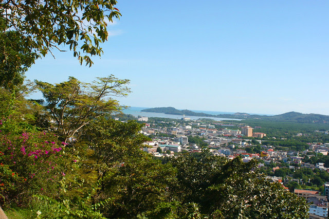 Rang Hill or Khao Rang gives you a panorama of the city