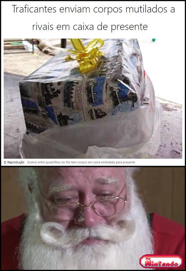 Presente De Natal Inusitado