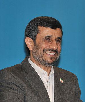 Mahmoud Ahmadinejad, President of Iran