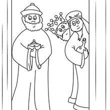 Dibujos Para Colorear De Los Reyes Magos 35 Dibujos De Los 3 Reyes