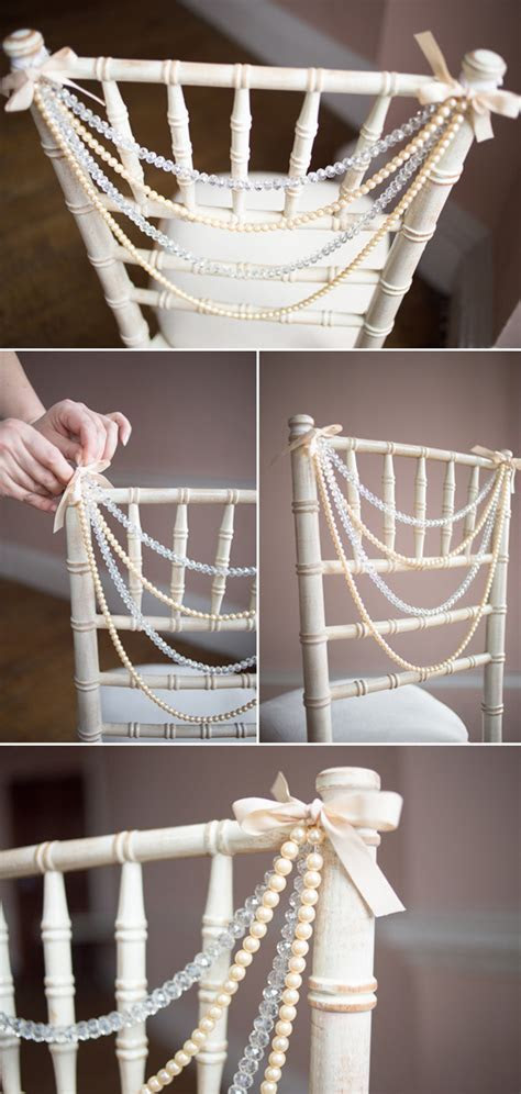 8 Awesome And Easy Ways To Decorate Wedding Chairs
