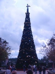 Epcot Center Christmas tree
