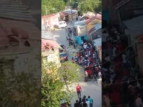 Residentes de La Cienaga dicen que la PN no hace cumplir el toque de queda; temen al brote de Covi-19