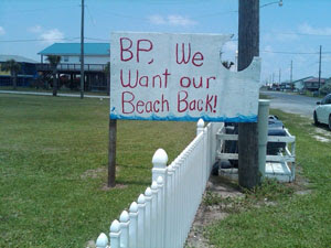 Grand Isle residents are not amused by the beach closing.