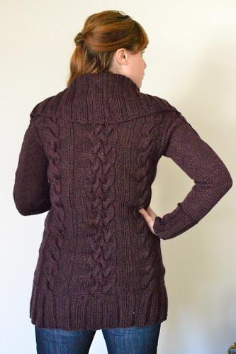 Meg's Sweater - Back
