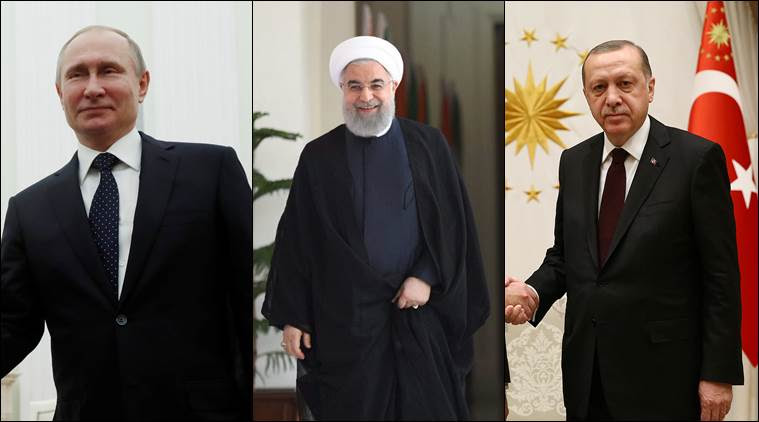 Presidents of Russia, Turkey, Iran to meet in Turkey in April