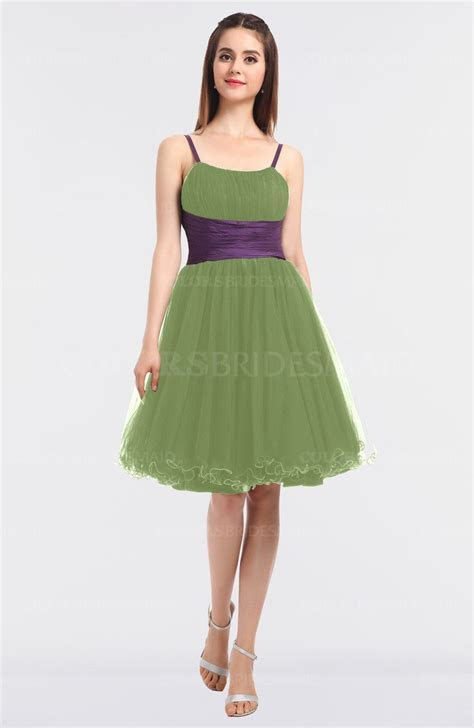 Gleam Elegant Ball Gown Sleeveless Zip up Knee Length
