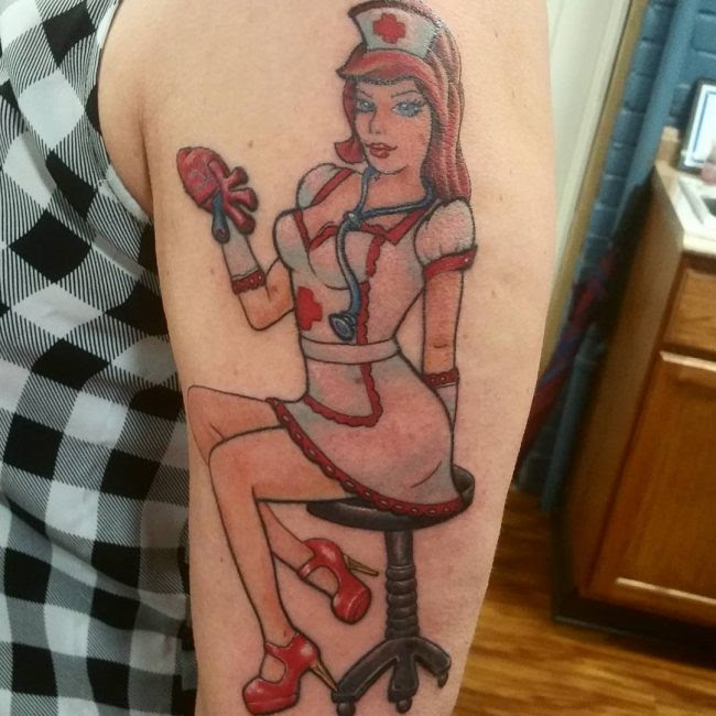 90 Best Pinup Tattoo Girl Designs Meanings Add Style In 2018