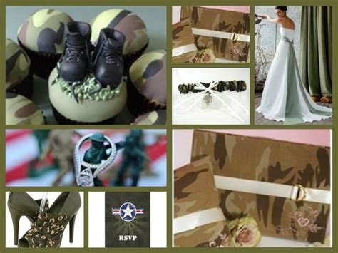 Army wedding theme   Military Wedding Ideas   Pinterest
