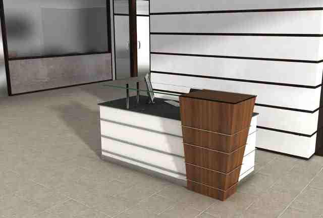 Capital Modern Reception Desk On Sale Now For Half Price