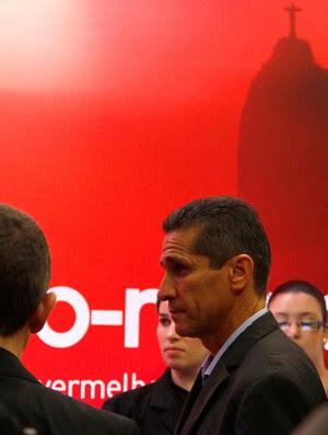 Lançamento camisa Flamengo Jorginho (Foto: Marcelo de Jesus)