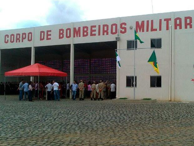 Quartel do Corpo de Bombeiros de Caicó foi inaugurado nesta quinta  (Foto: Divulgação/Governo do RN)