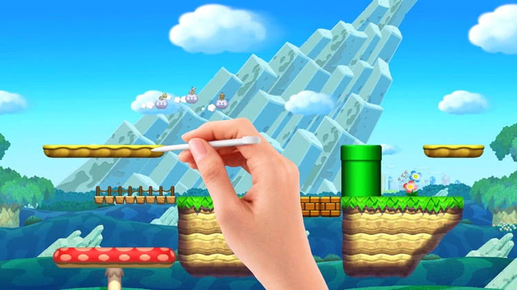 Stage Super Mario Bros Super Mario Maker Wiiu Super