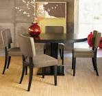 Velvet dining room chairs with modern sets