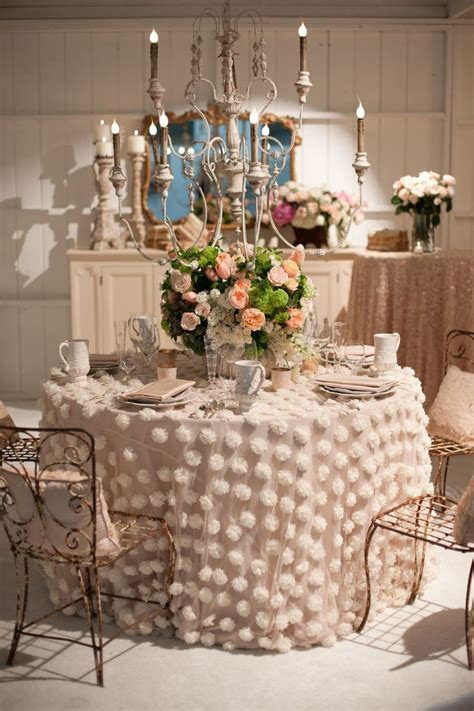 297 best Table Skirts, Covers and Cloths images on