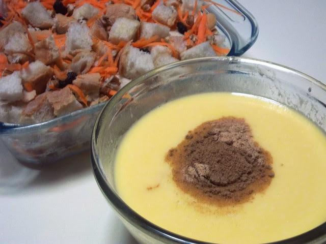 carrot cake capirotada prep 2