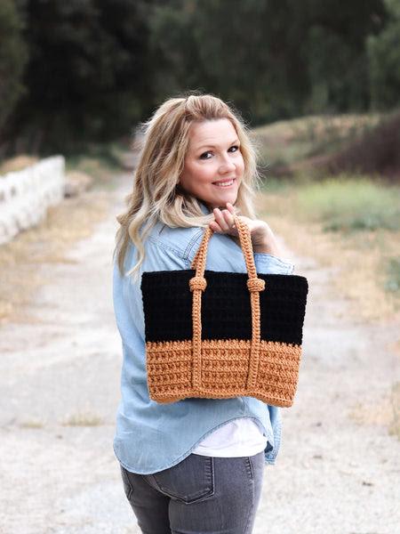 Crochet Kit - Baker Street Bag