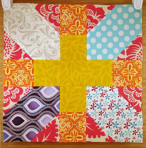 Japanese x and + block- March-Inspire Circle