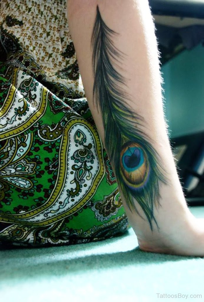 Peacock Feather Tattoo On Wrist Tattoo Designs Tattoo Pictures