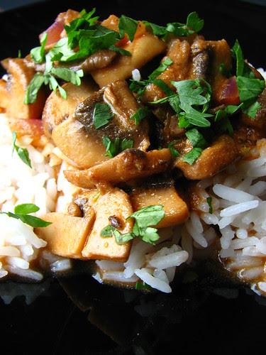 Mushroom Curry II