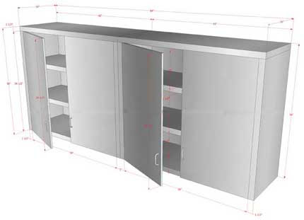 Customized Storage Cabinets   Restaurant Equipment